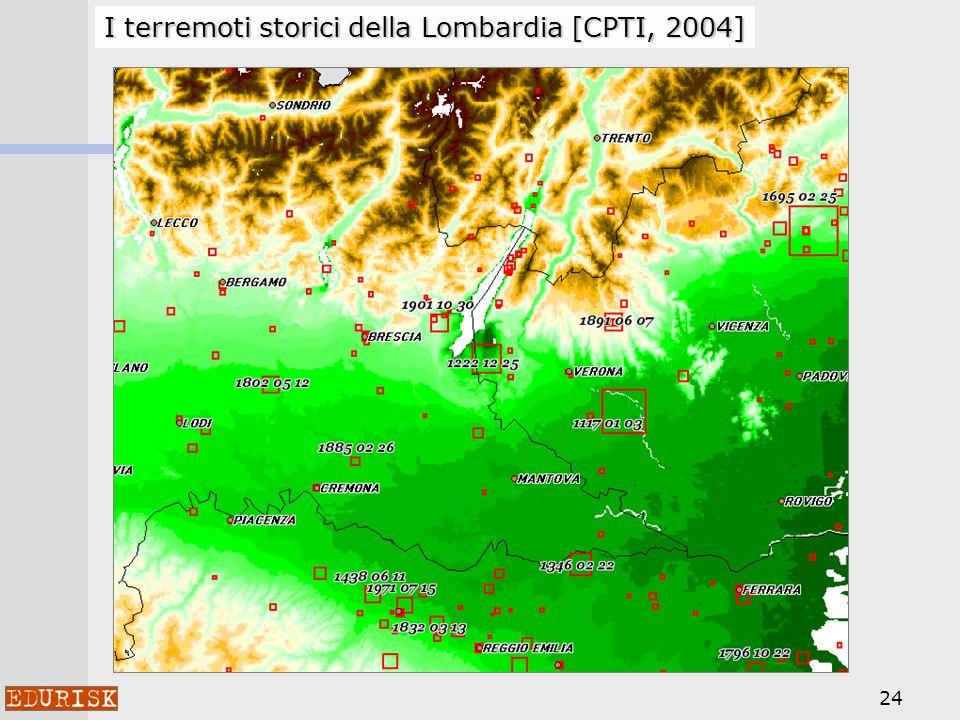 I terremoti storici della Lombardia [CPTI, 2004]